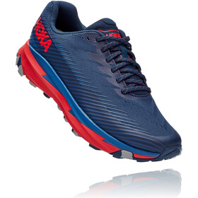 Hoka One One Torrent 2 Chaussures de trail Homme, moonlit ocean/high risk red